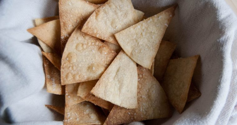 CRISPY TORTILLA CHIPS