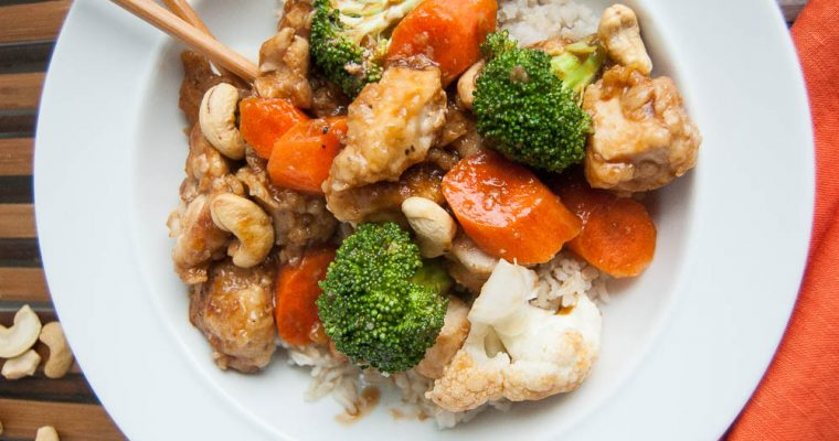 CASHEW CHICKEN & VEGETABLES
