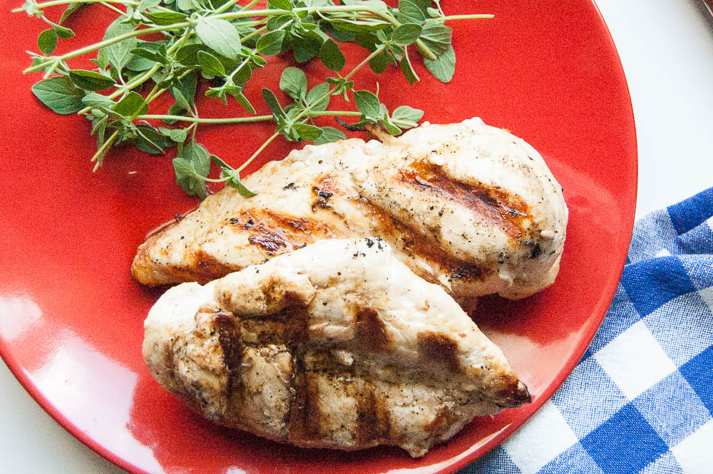Try this Grilled Chicken with Garlic and Fresh Herbs to turn ordinary chicken breasts into something special you whole family will enjoy!