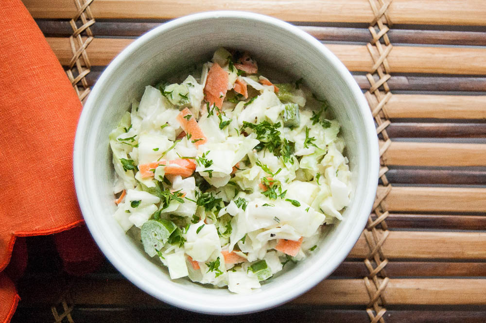 THE BEST HOMEMADE COLESLAW RECIPE
