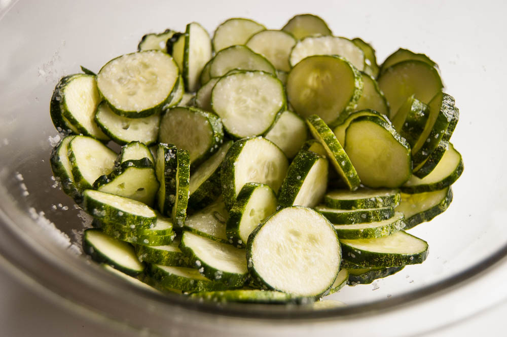 These delicious and easy Bread & Butter pickles are a wonderful treat with sandwiches, burgers or straight out of the jar!